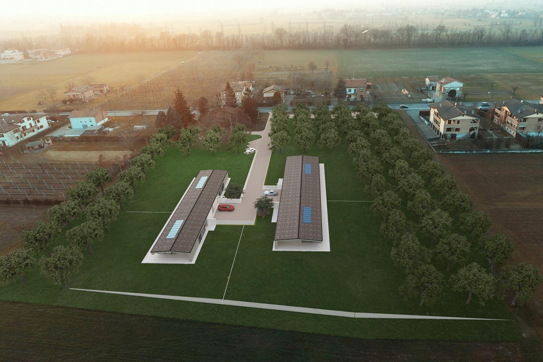 Drone View - Borgo Dei Ciliegi Binini Partners