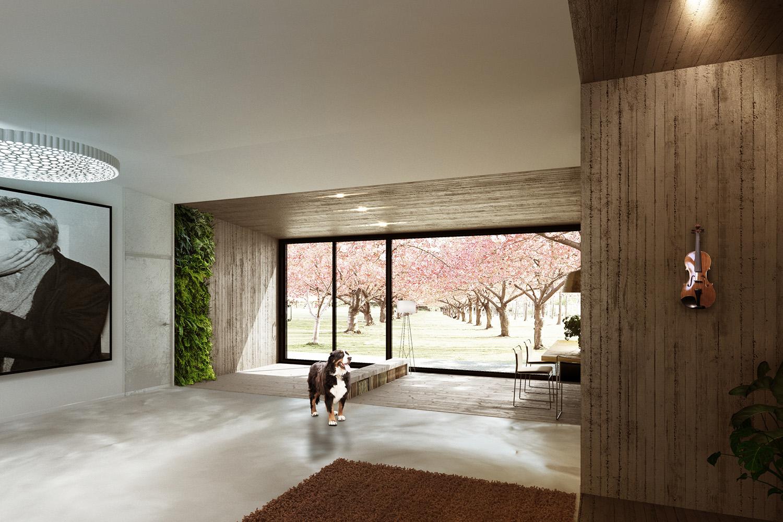 Internal View - Borgo Dei Ciliegi Binini Partners