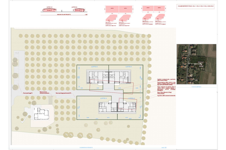 Planimetria Progetto - Borgo Dei Ciliegi Binini Partners}