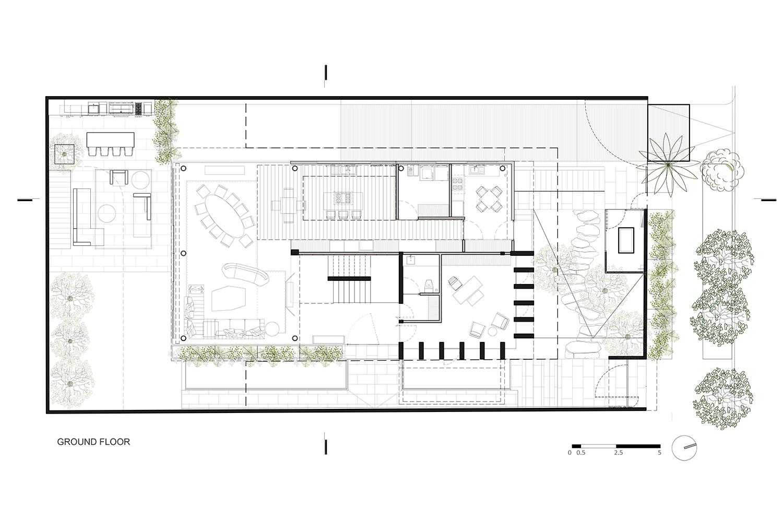 Ground floor RIMA Arquitectura}