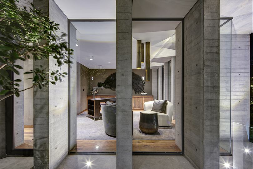 Living area Frank Lynen