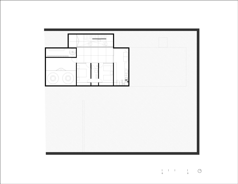 Basement Plan Ignacio Urquiza, Bernardo Quinzaños, Centro de Colaboración Arquitectónica}