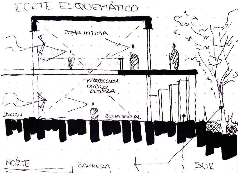 Conceptual Sketch Apaloosa Estudio de Arquitectura y Diseño}