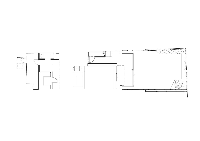 Lower ground floor plan Guarnieri Architects}