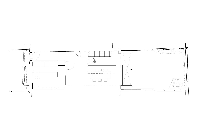 Ground floor plan Guarnieri Architects}