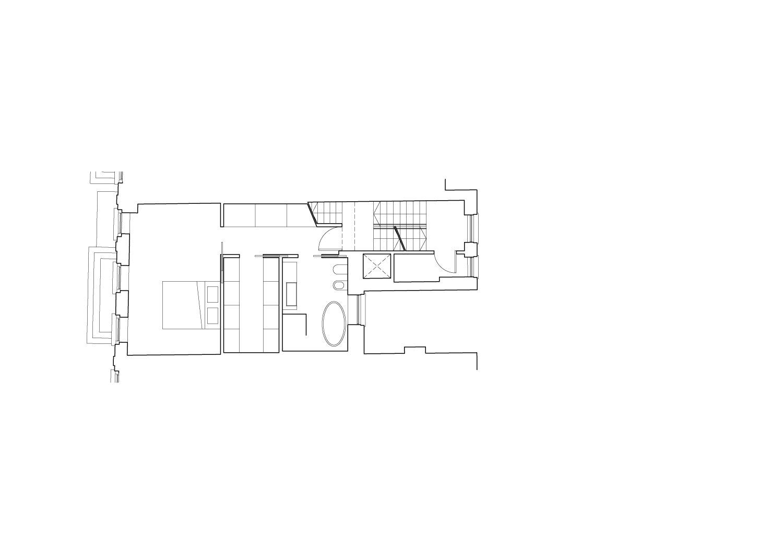 Second floor plan Guarnieri Architects}