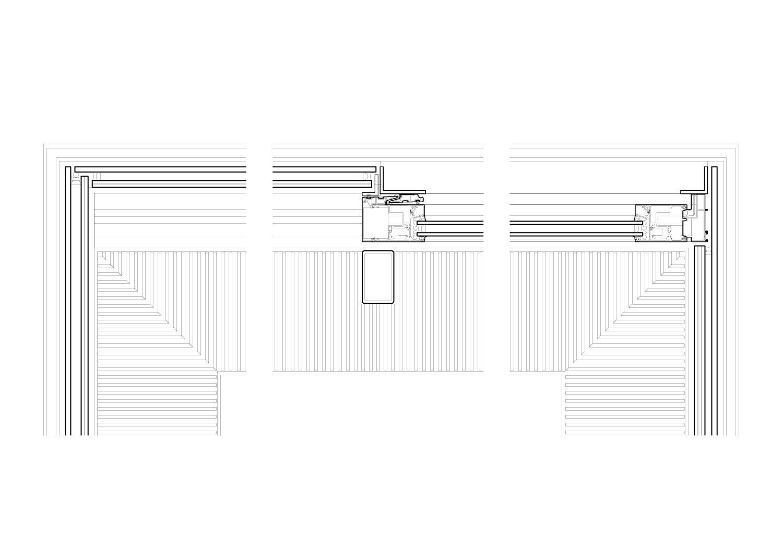 Glass box detail - plan Guarnieri Architects}