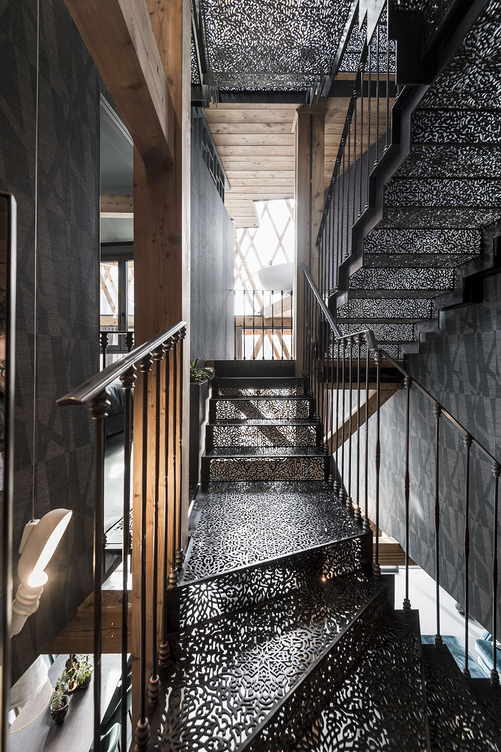 Messner House - staircase Alex Filz