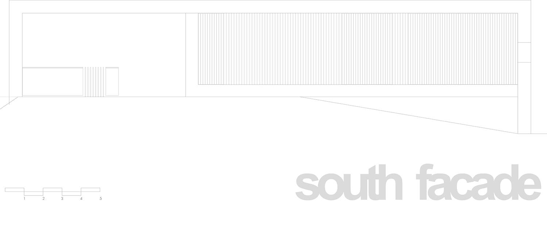south facade 4 plus arhitekti}