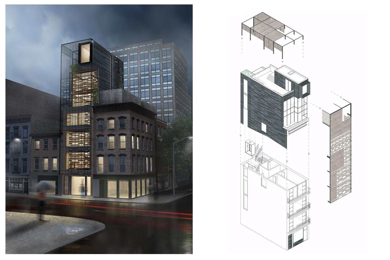 Building rendering © Archi-Tectonics}