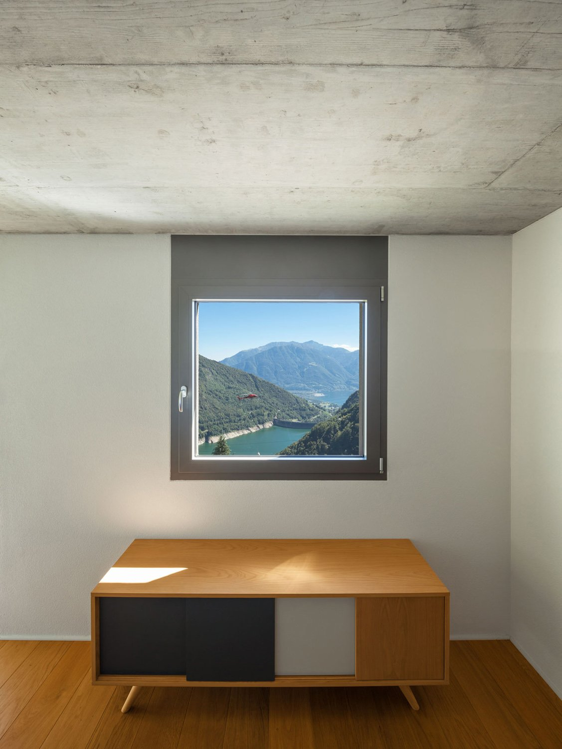 View from inside Alexandre Zveiger, Lugano CH