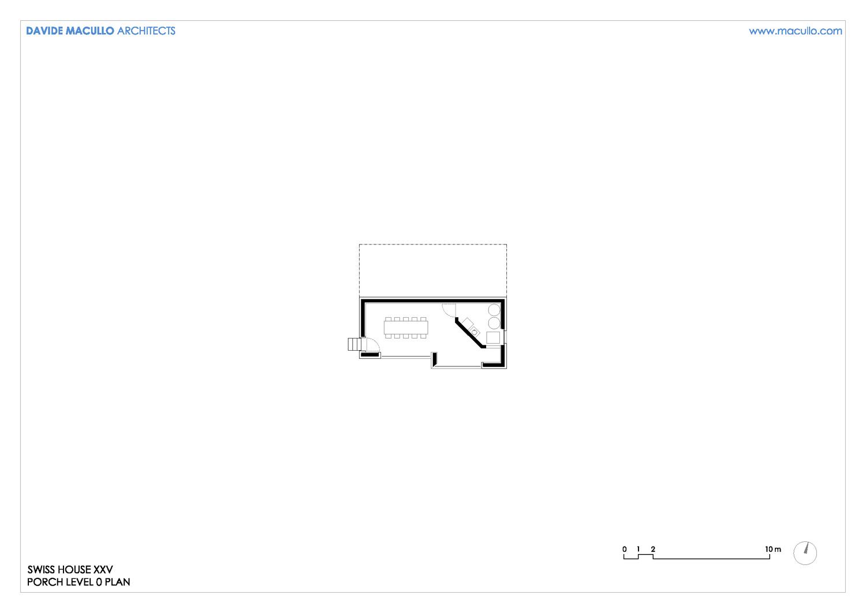 Level 0 plan Davide Macullo Architects SA}