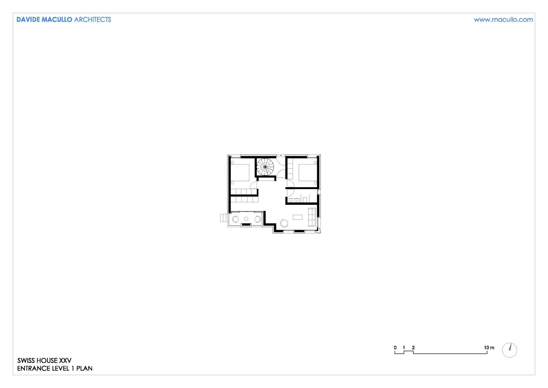 Level 1 plan Davide Macullo Architects SA}