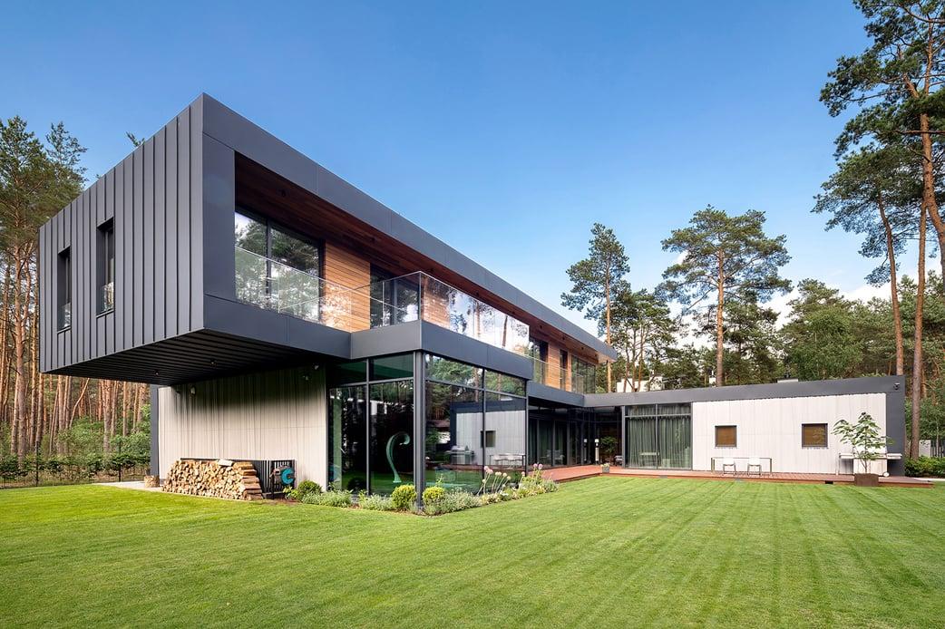 Curtain house Szymon Polański/Trzop Architekci