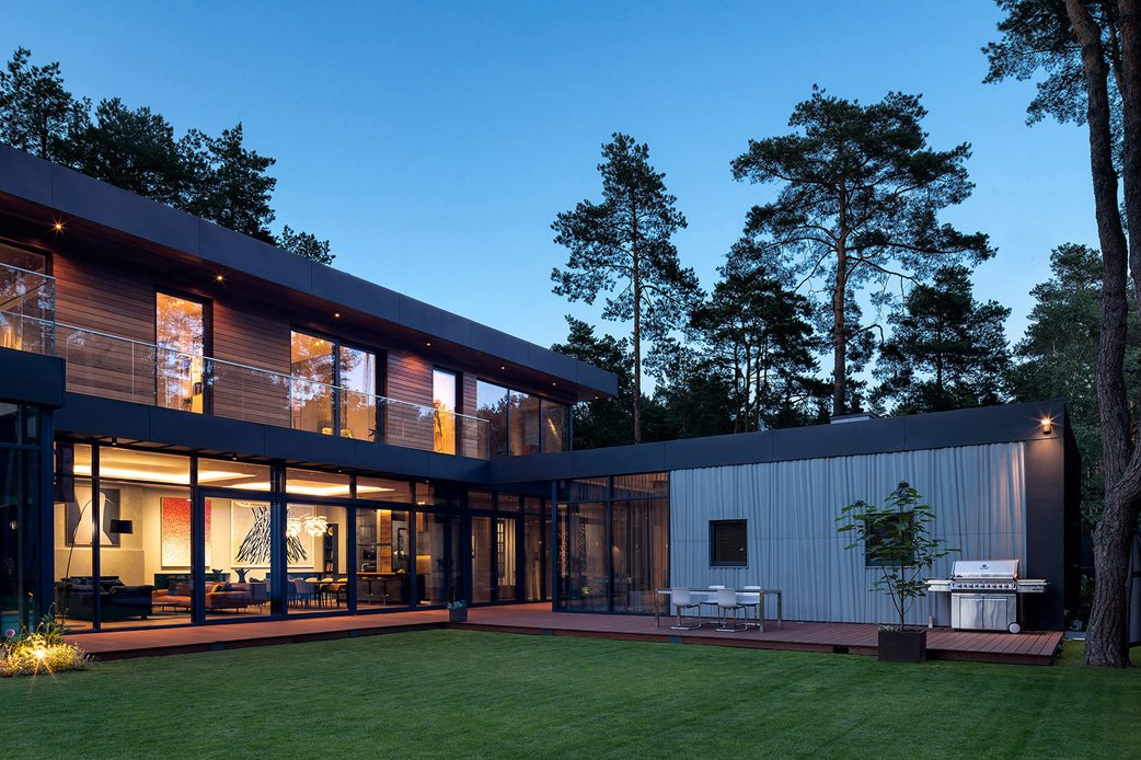 South elevation by night 2 Szymon Polański/Trzop Architekci