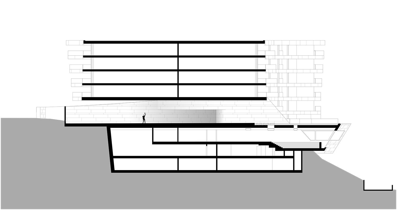 Sezione Mino Caggiula Architects}