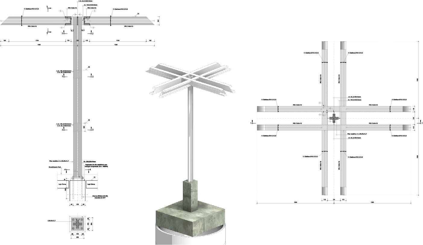 Metallic pillar detail studiomk27}