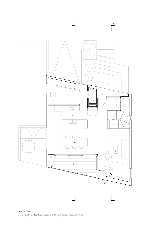 Main Floor Plan Leckie Studio Architecture + Design}