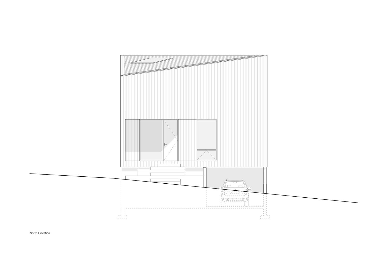 North Elevation Leckie Studio Architecture + Design}