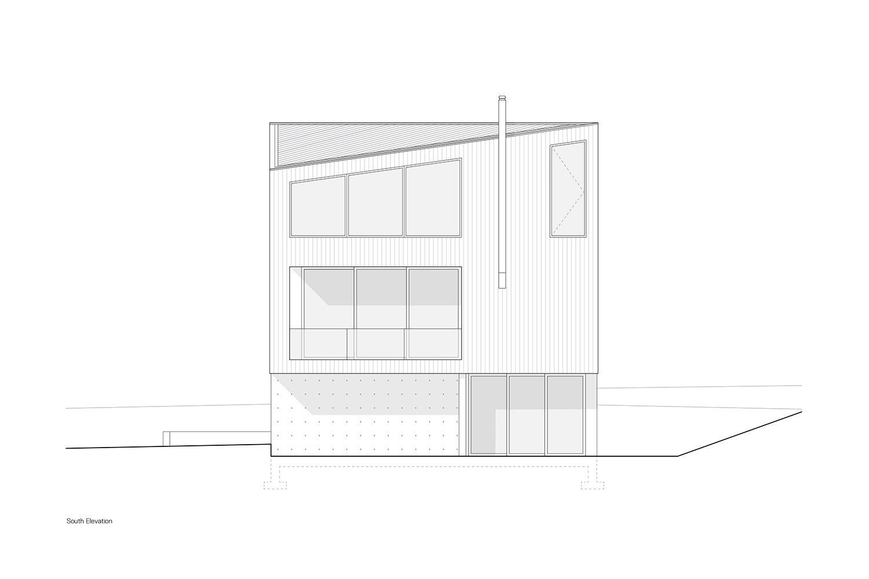South Elevation Leckie Studio Architecture + Design}