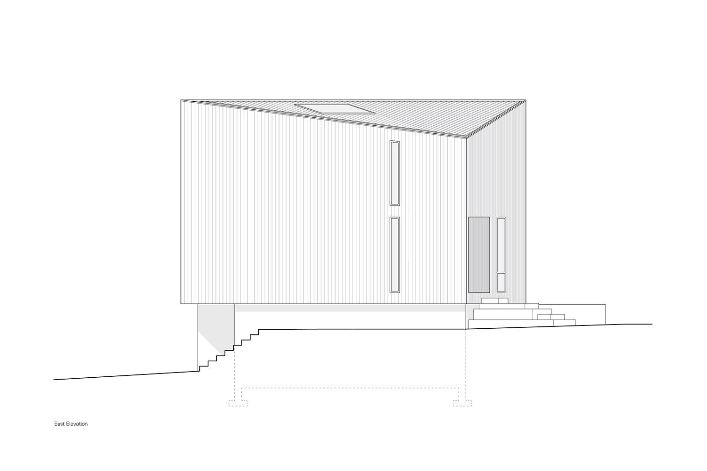 East Elevation Leckie Studio Architecture + Design}