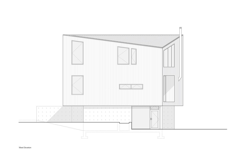 West Elevation Leckie Studio Architecture + Design}