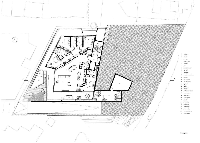 First storey level Forte Architetti}