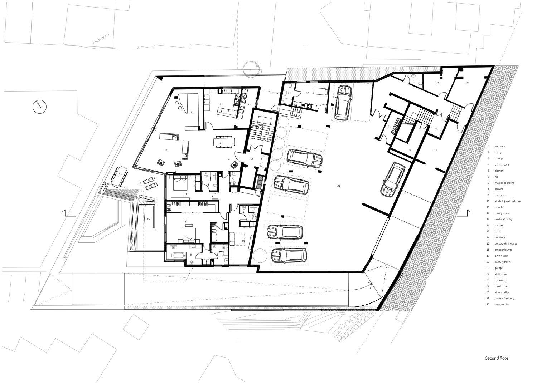 Second storey level Forte Architetti}