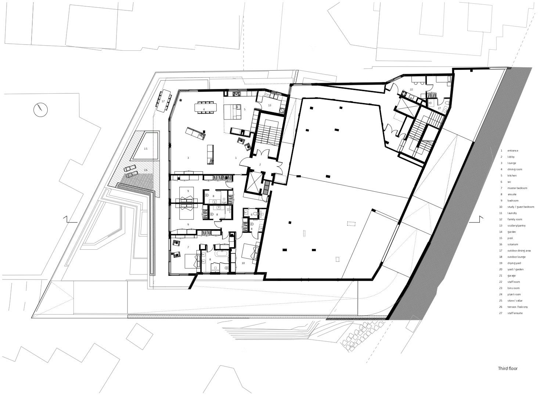 Third storey level Forte Architetti}