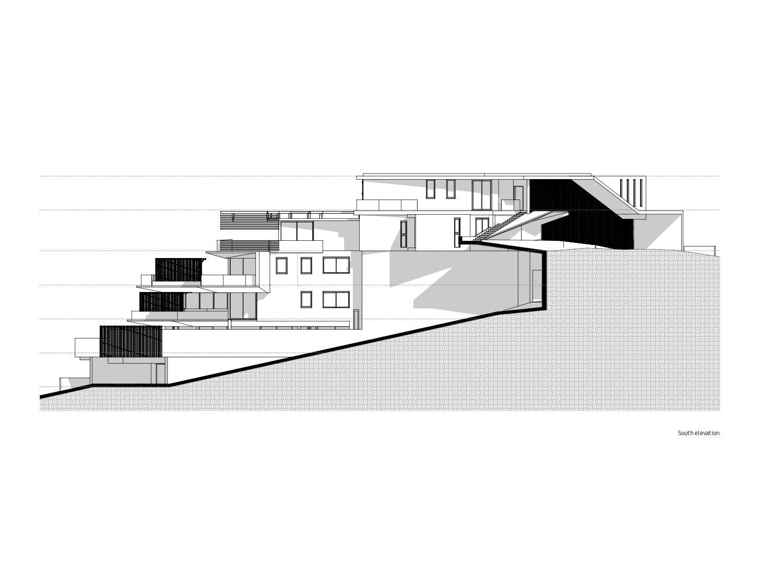 South Elevation Forte Architetti}