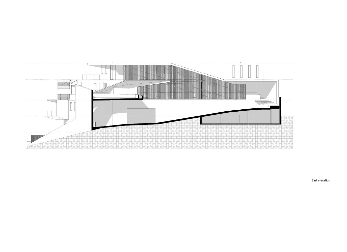 East Elevation Forte Architetti}