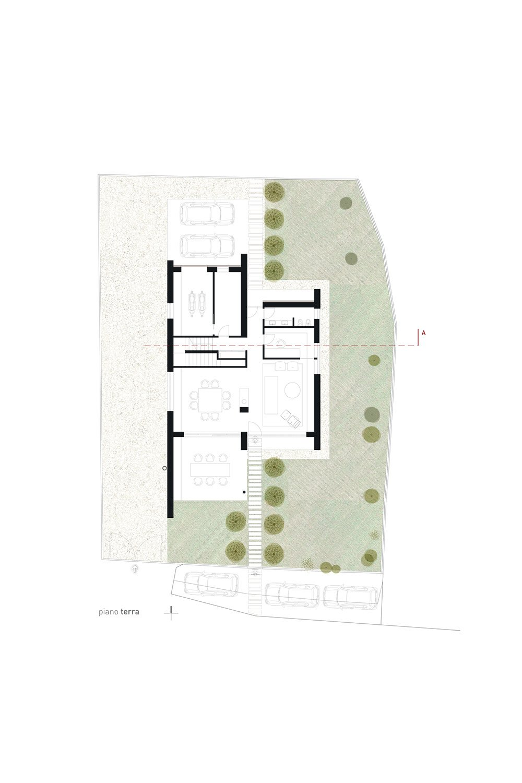 pianta piano terra Studio Roberto Nicoletti Architettura e Design}