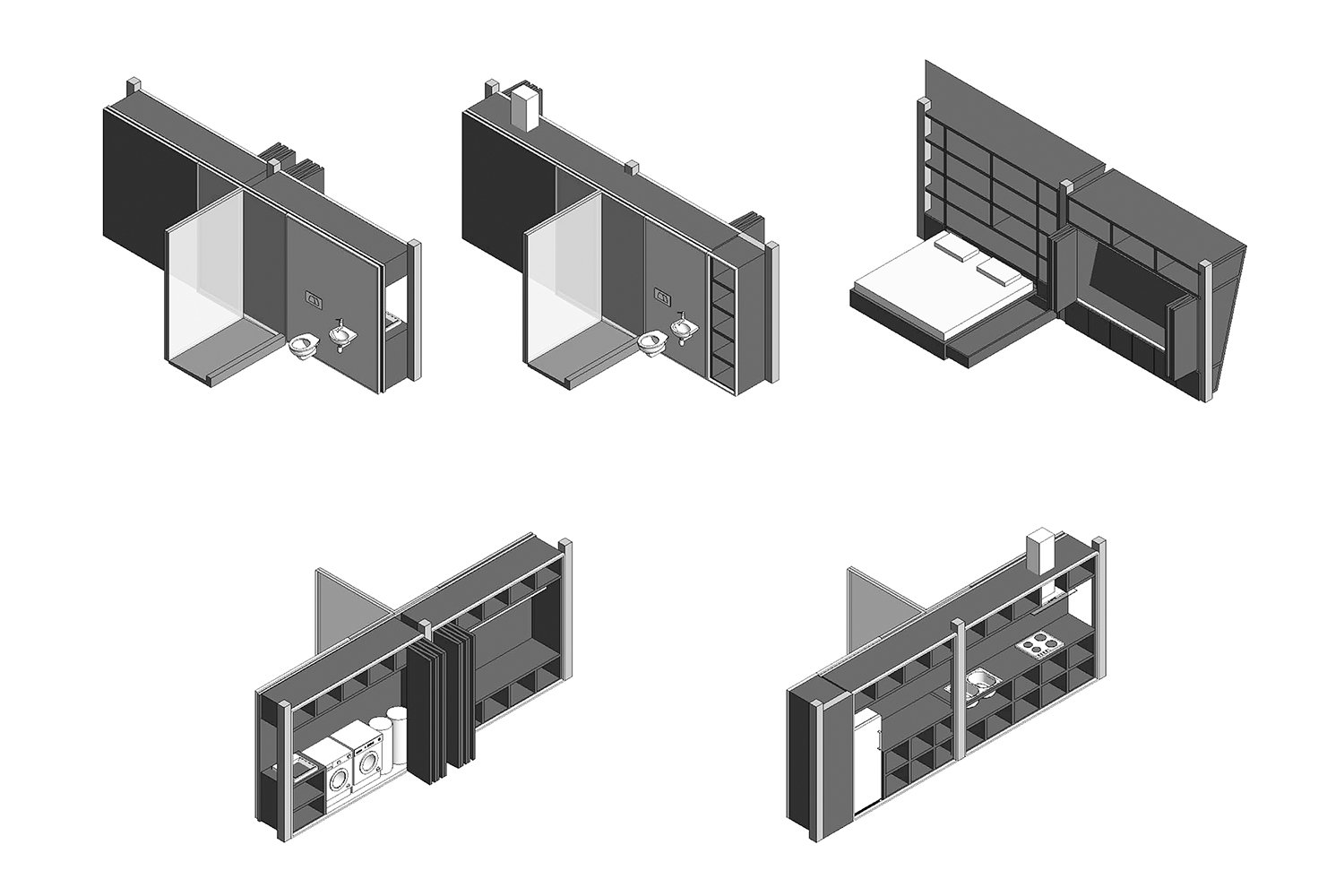 Early drawings of the furniture plugs. A-01}