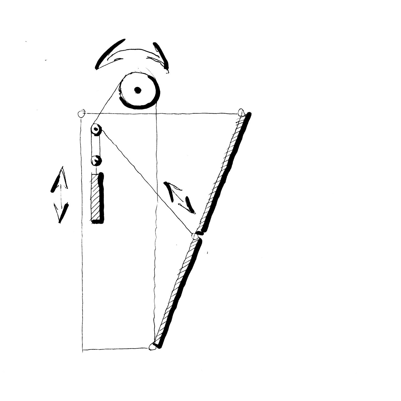 Sketch gate closed. A-01}