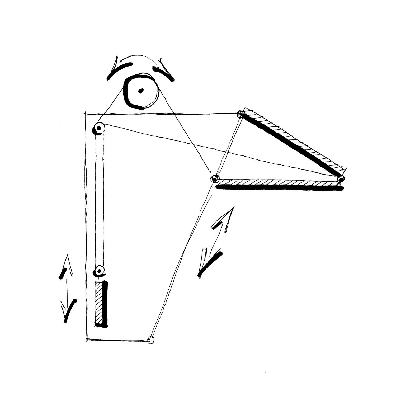 Sketch gate open. A-01}