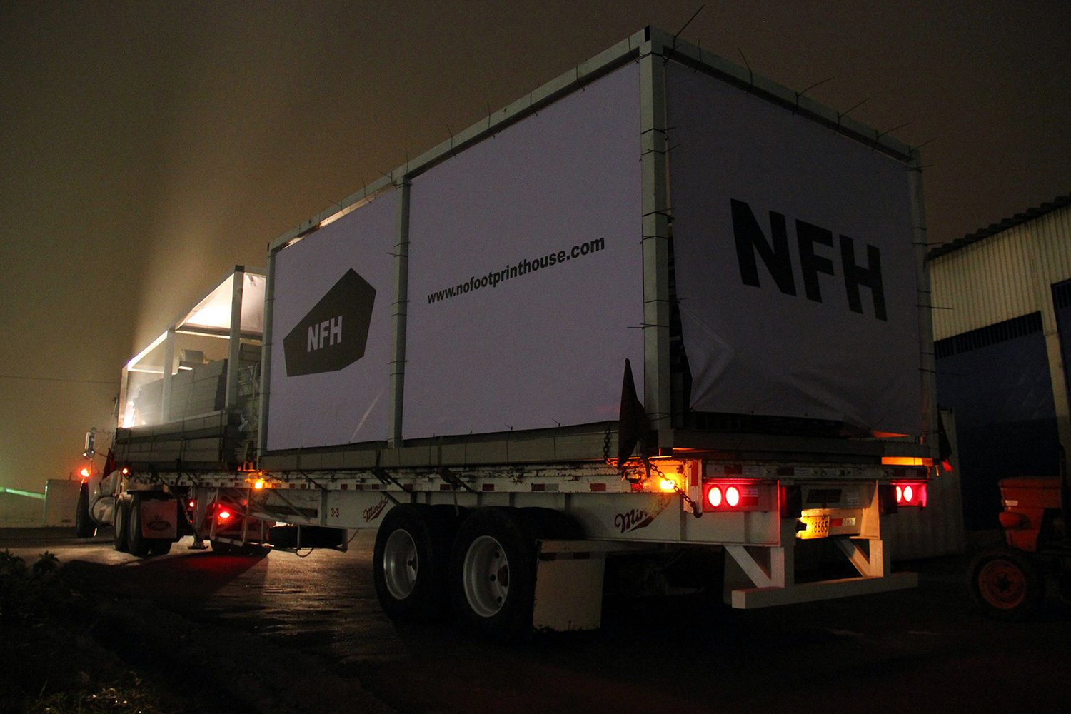 Overnight delivery of the NFH-108 for Ojochal. A-01}