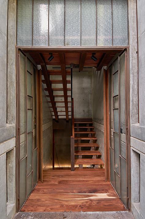 Stairs Ricardo de la Concha