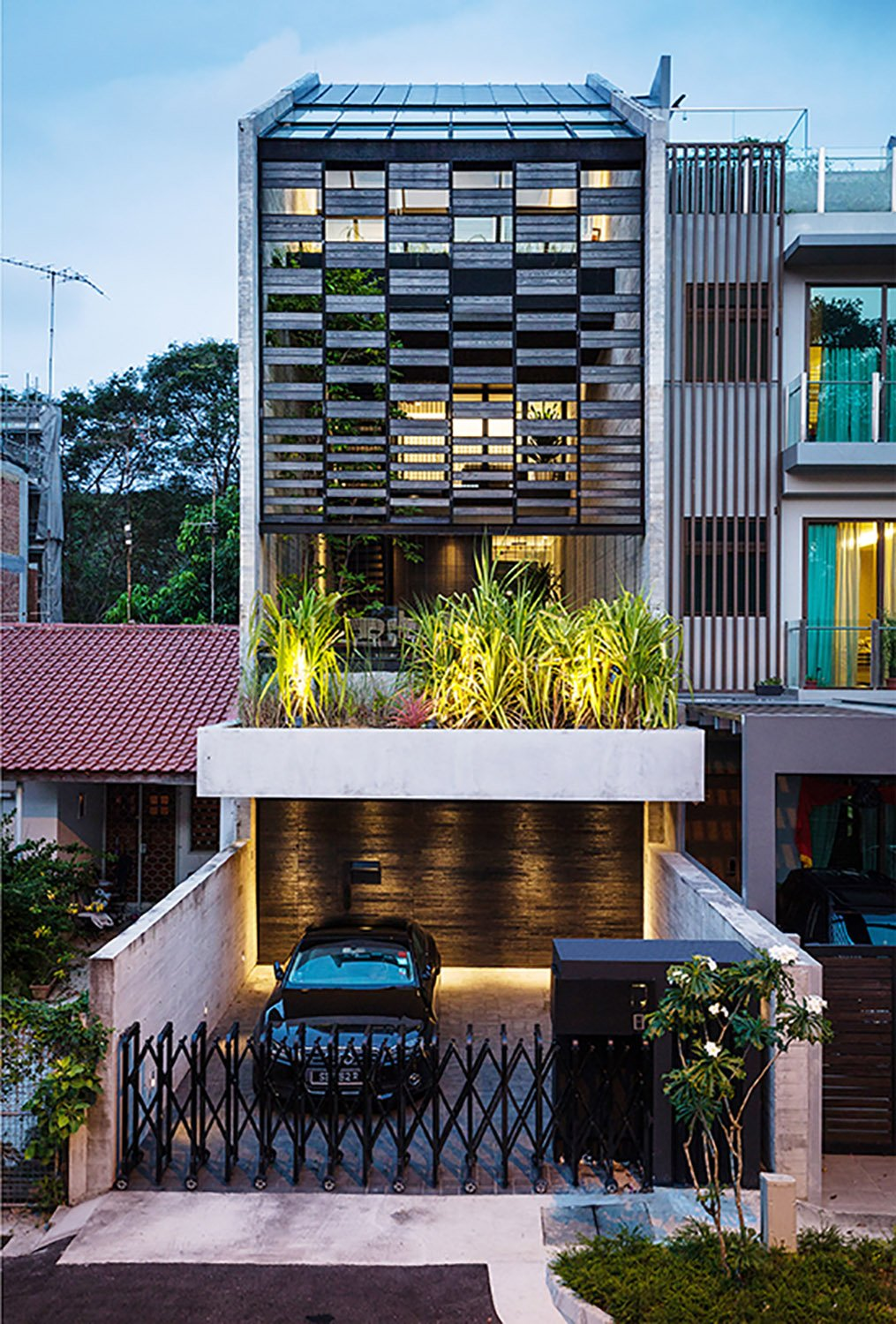 Front view of the house. Fabian Ong