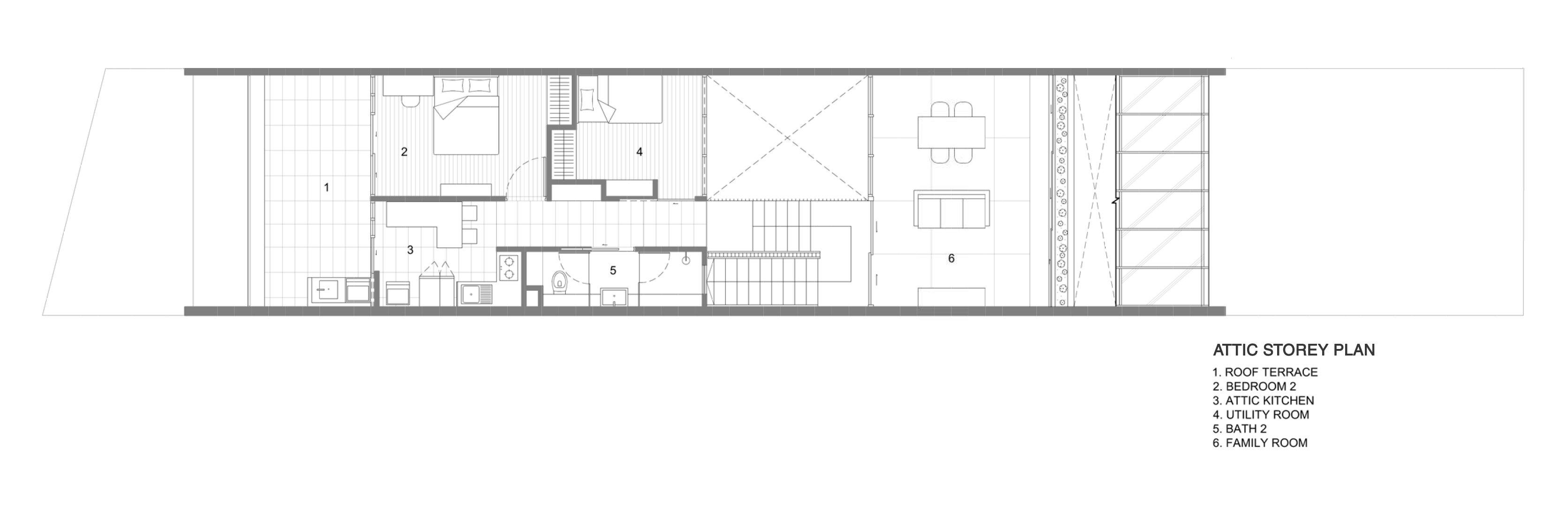 Attic Storey Plan Formwerkz Architects}