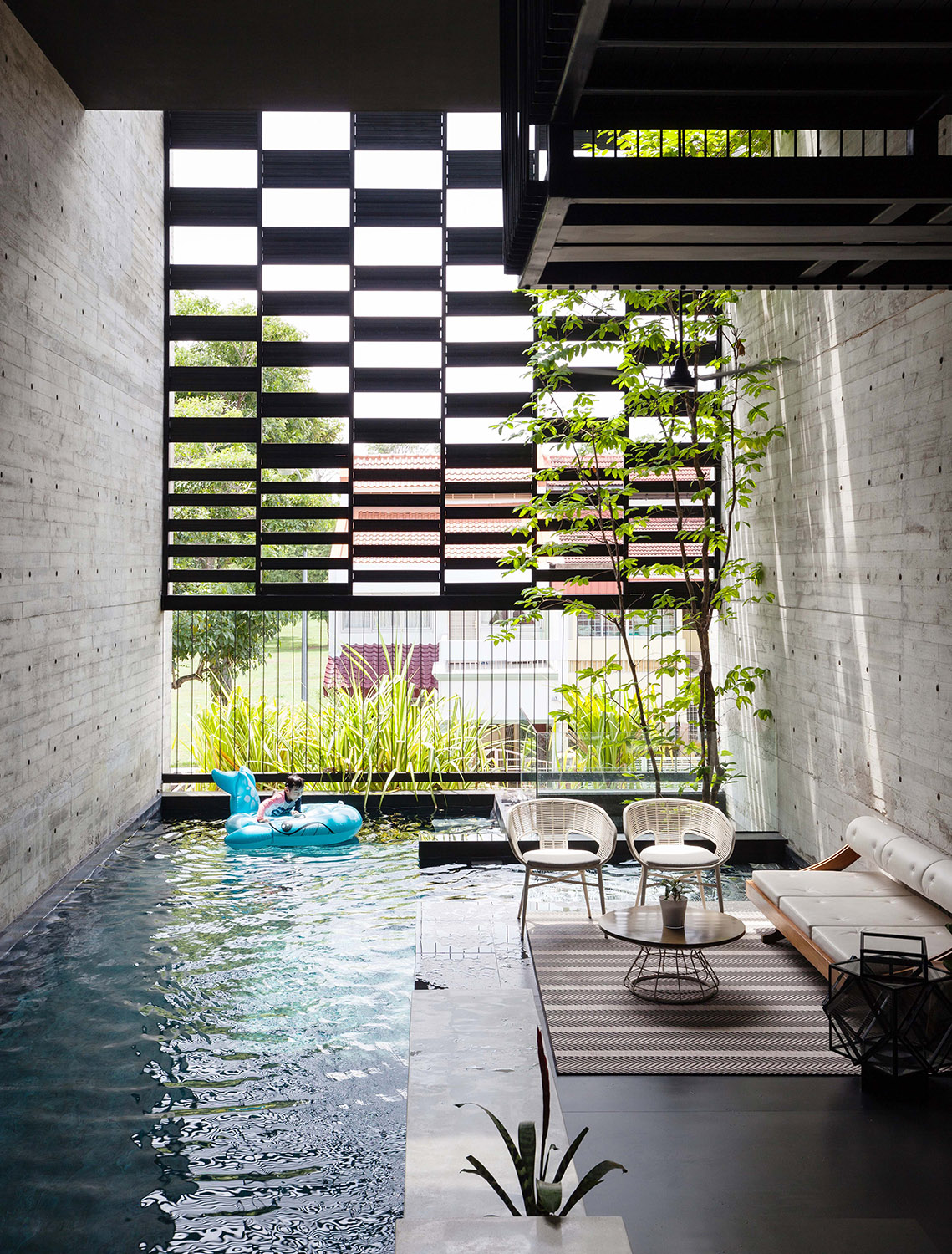 View of the pool Fabian Ong