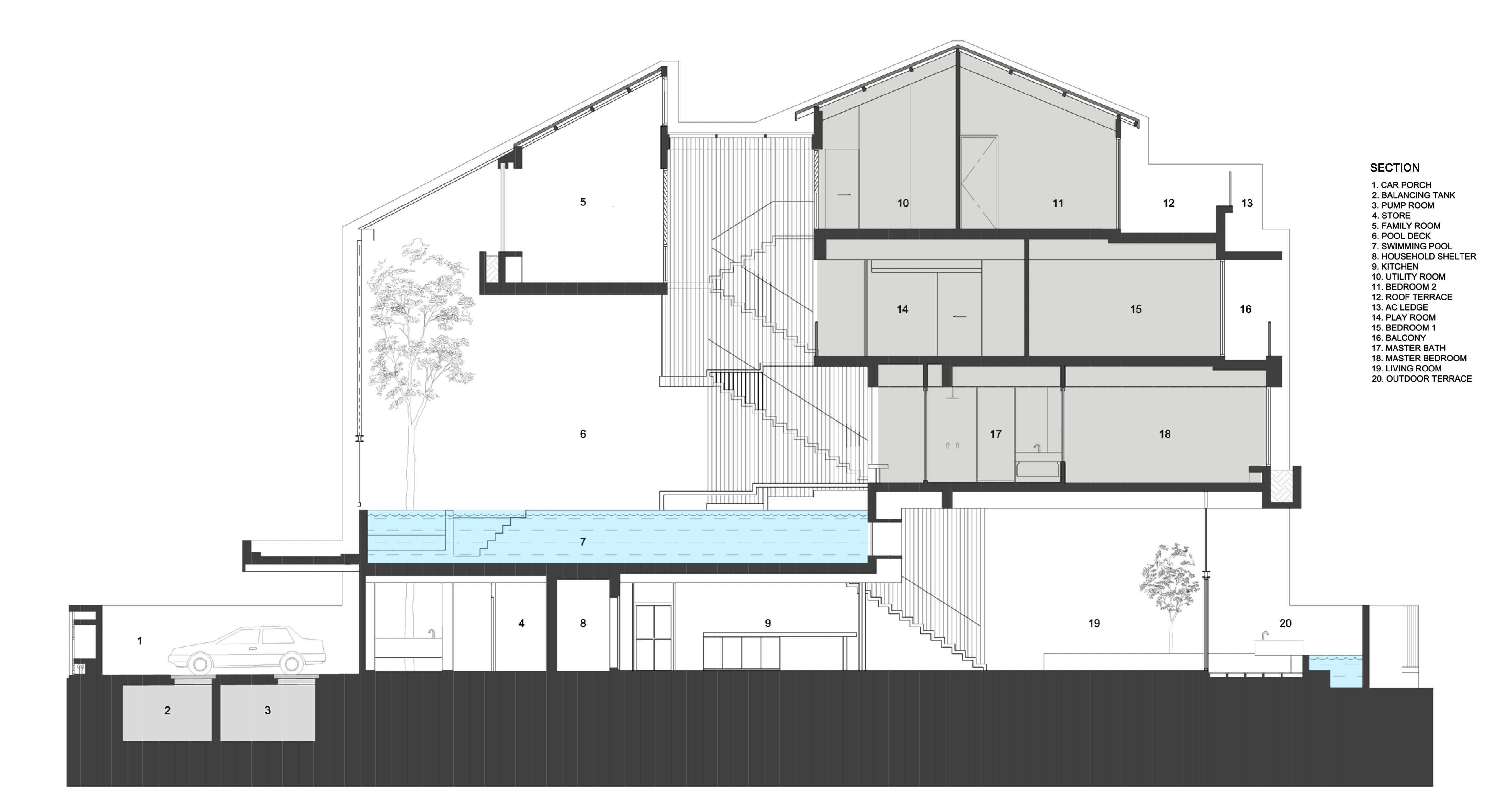 Section Formwerkz Architects}