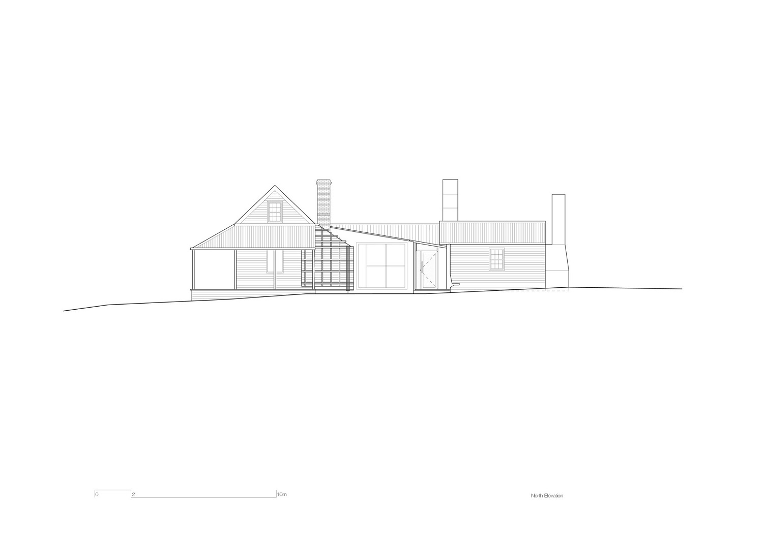 North Elevation John Wardle Architects}
