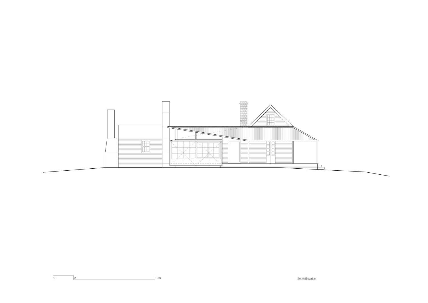 South Elevation John Wardle Architects}