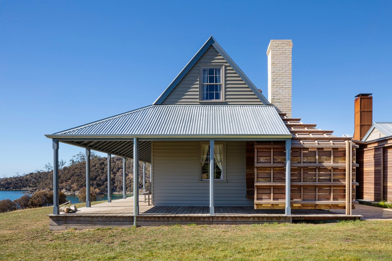 Original cottage with new addition Trevor Mein