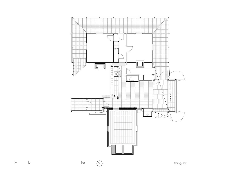 Reflected ceiling plan John Wardle Architects}