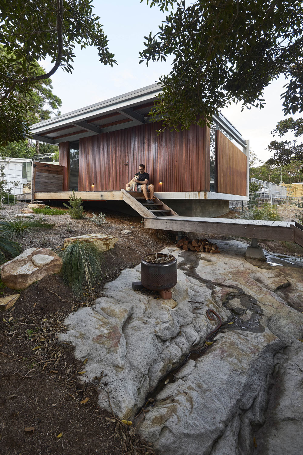 Garage and outdoor living Michael Nicholson