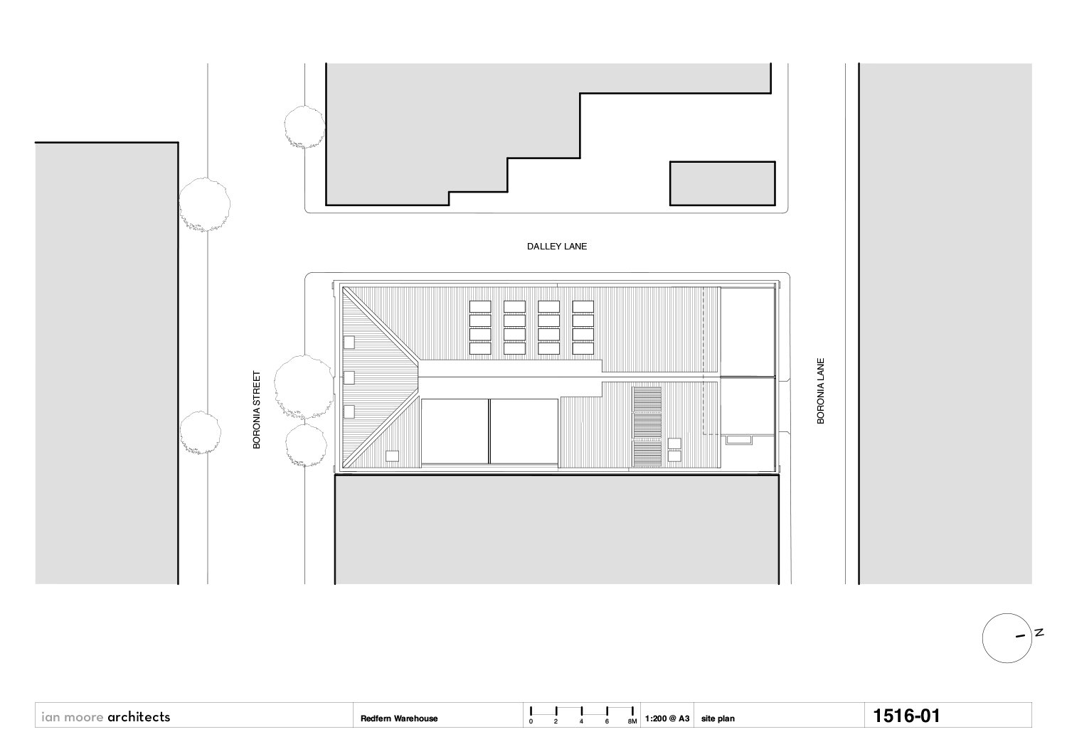 site plan Ian Moore Architects}