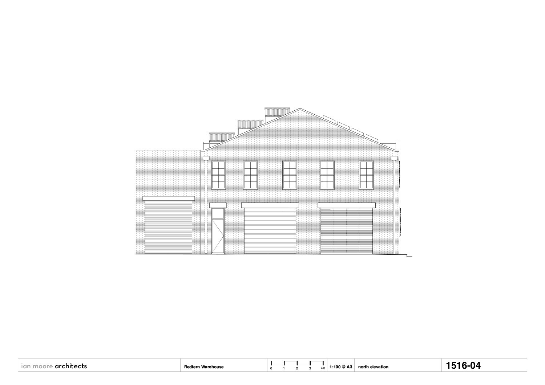 north elevation Ian Moore Architects}