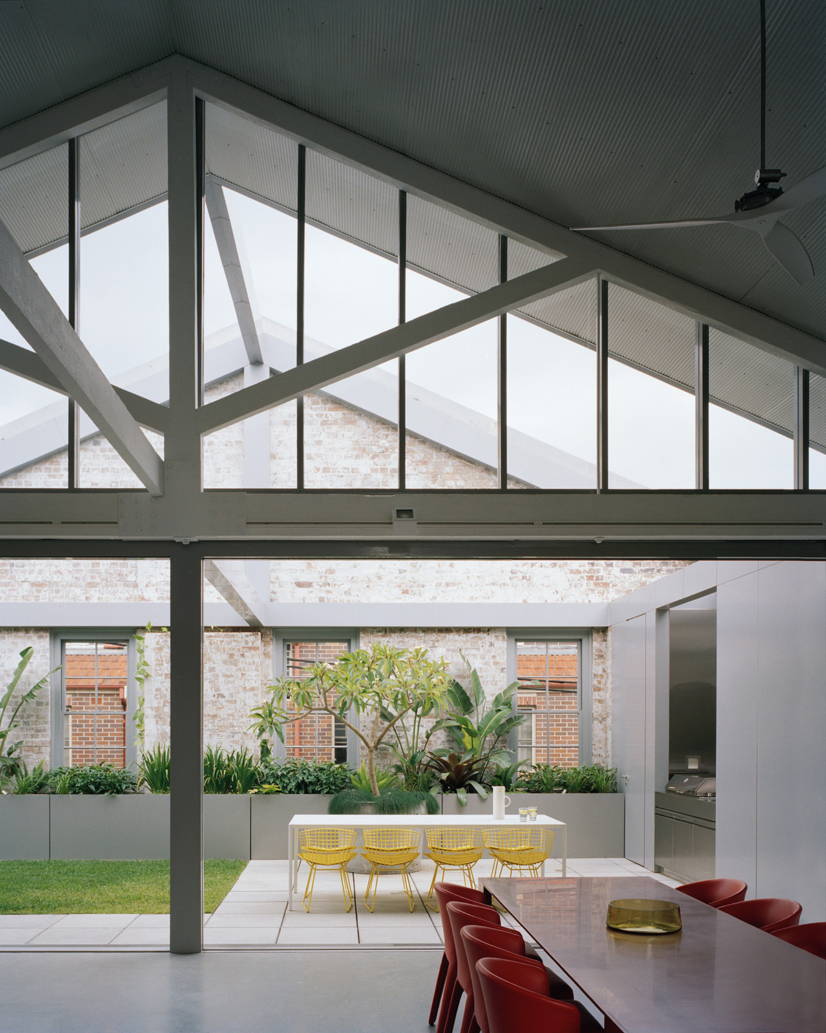 Indoor and outdoor dining areas Rory Gardiner