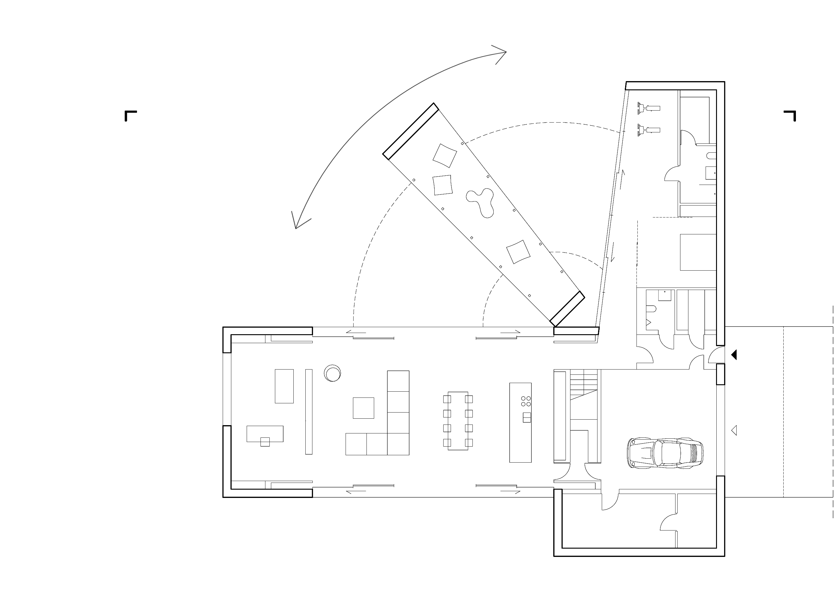 Ground Floor Plan © KWK PROMES Robert Konieczny}